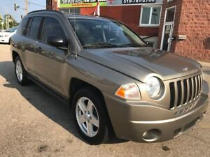 2008 Jeep Compass LOW KMS - NO ACCIDENT - SAFETY & WARRANTY INCL