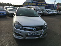 2009 VAUXHALL ASTRA SPORTIVE SE CDTI SILVER
