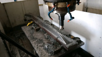 Cnc machine shop and fabricating services