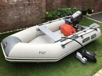 8ft inflatable rib