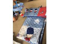Soldier cot bedding bundle