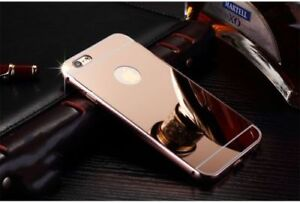 IPHONE 7 Plus Metal Frame Acrylic Mirror case