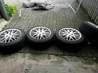 Volkswagen polo ally wheels