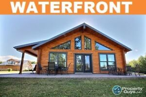 River John-Riverfront Log Home with HUGH Garage & In-law Suite