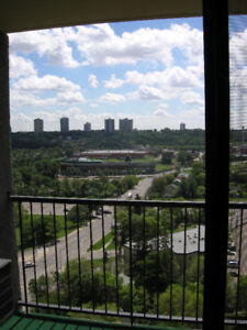 BEAUTIFUL DOWNTOWN CORNER SUITE CONDO WITH RIVER VALLEY VIEW
