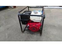 Honda GX 390 6.5kva stephill large industrial generator