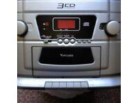 3CD changer home hi-fi player