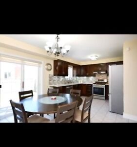 """60"""" Table with 6 Chairs and Inbuilt Lazy Susan"""