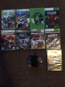 Xbox 360 games and afterglow controller