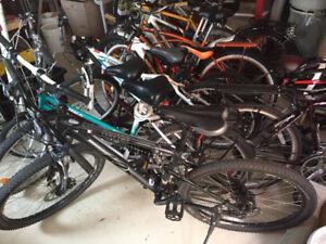 Recyclage de vélo