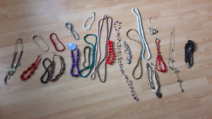 24 necklaces selling as a lot