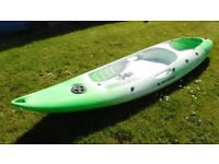 SOLD: Perception Scooter sit on top Kayak