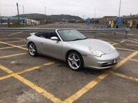 Porsche 911 CARRERA 4 convertible **36k full porsche history**