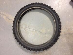 Dunlop Geomax MX51F 80/100-21 51M Used-lots of tread
