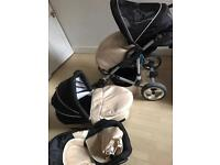 Baby Buggy 3in 1 used few months