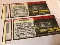 2x Reading Festival Eminem Tickets Saturday 26th August 2017