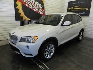 2013 BMW X3 xDrive28i *GPS*Toit*Cuir*AC*Mags