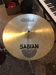 "Drum Stuff - Sabian 18"" Hand Hammered Medium Crash Cymbal"