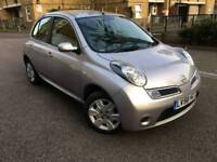 58 PLATE NISSAN MICRA Acenta 1.2 Petrol Manual VERY Low Mileage 64,000 - Warranted