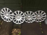 """15"""" Ford Hubcap Wheel Trims (Free)"""