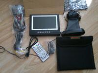 Portable Next Base TVM57 7 Inch Digital DVBT and Analogue 240 / 12V TV Caravan Boat Tv FM