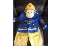 Kids clothes ,fireman Sam dressing up outfit