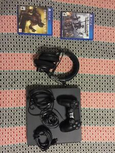 PS4 With Nier, Dark Souls 3 and Turtle Beach Headset