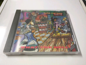 What The Hell RARE OOP 93 CD Madchild DJ Flipout Swollen Members
