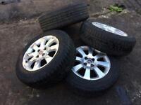 """Alloys 15"""" Vauxhall 4stud"""