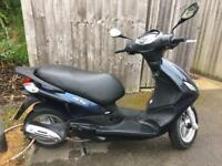 Paggio Fly 124cc Moped with 1 year of M.O.T left