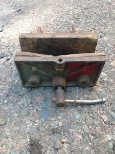 "RAE Canada 6"" Wood Vice, Needs Greased Up But Its A Good Vice"