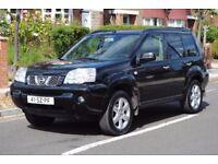 LHD LEFT HAND DRIVE NISSAN X-TRAIL 4X4 2006 COLUMBIA SAT-NAV, DVD, PARKING SENSORS CLEAN CAR