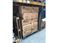 Secure storage space in the warehouse, pallet size £10 per week