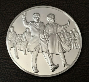 Sterling silver medal 1977 Carter and Mondale Take Office 30.87g