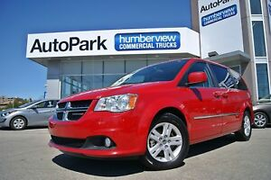 2015 Dodge Grand Caravan Crew NAV|DUAL DVD|SUNROOF|LOADED