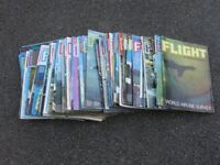 Flight International Magazines x 63
