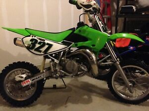 2006 Kawasaki KX 65..with extras & ownership, trade for 85cc