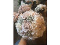 Wedding bouquets artificial