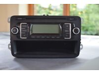 VW RCD CAR RADIO/CD PLAYER - GOLF, PASSATT, TOURAN, CADDY, TRANSPORTER