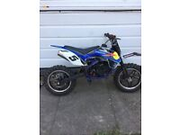 Kids 50cc 2 stroke dirt bike