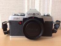 Minolta XG-1 35mm SLR Camera, Lenses and Accessories