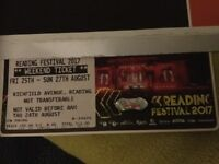 Reading Festival weekend camping ticket - SOLD