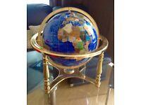 Gemstone globe