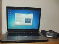 Toshiba satellite Core Due Laptop (wi fi and internet ready)