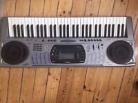 Casio Electronic Keyboard CTK-671 + collapsable stand