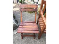 Child garden chair