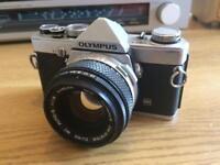 Olympus OM-1n vintage film camera