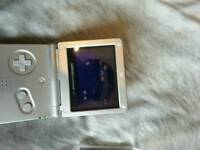 Nintendo game boy advance sp with 10 games