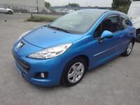 LHD 2012 Peugeot 207 1.4 Active VT Petrol 3 Door SPANISH REGISTERED