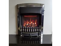 Valor Homeflame Dream 4.0 KW Deep Bed Inset Gas Fire (Chrome)